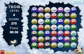 Онлайн игра Три пингвина